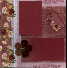 Personal Shopper Scrapbook Layout Kits Mar 2010