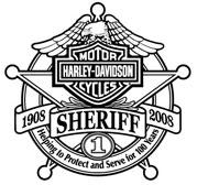 Harley Davidson Sheriff Logo