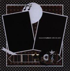 Personal Shopper Scrapbook Layout December 2011