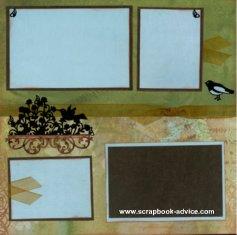Personal Shopper Scrapbook Layouts