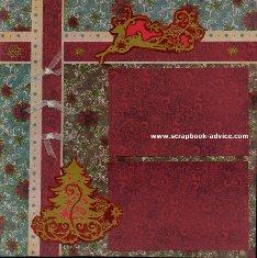Personal Shopper Scrapbook Layout November 2011