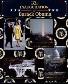 Obama Inauguration Scrapbook Layouts