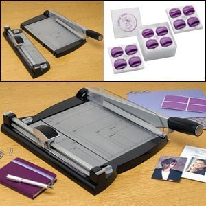 Purple Cow Scrapbook Trimmer Combo