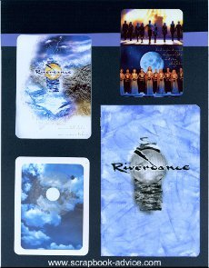 Riverdance Scrapbook Layout 12 x 15 inch Album