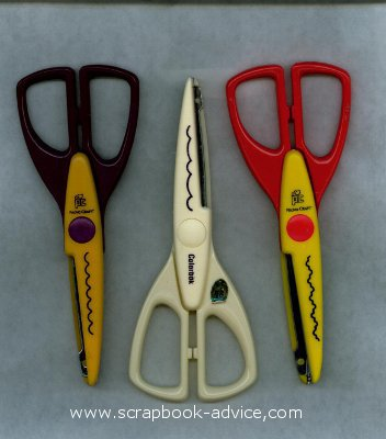 Decorative Craft Scissors Cutting Ideas