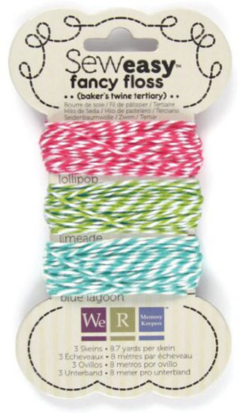 Sew Easy Bakers Twine Floss Card