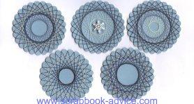 Spirella Winter Designs Instruction & Tutorial for scrapbook embellishments