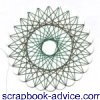 Spirella Christmas Design Instruction & Tutorial for scrapbook embellishments