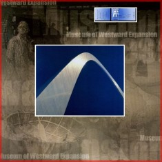 St Louis Arch Gateway to the West Scrapbook Layout