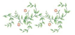 Delta Stencil Magic Decorative Stencils Delicate Vine Border