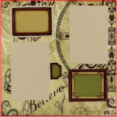 Storytellers Scrapbook Layout Dec 09