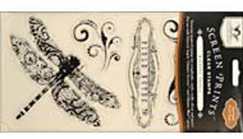 Tattered Angels Field Notes Clear Stamps