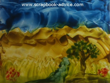 Encaustic Wax Tutorials  from the Encaustic Wax scrapbook tutorial