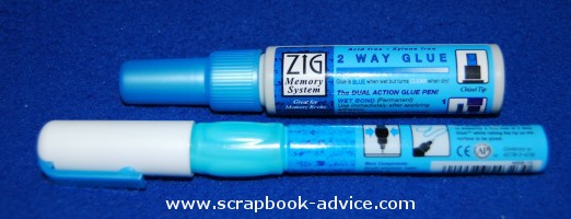 Scrapbook Adhesives Zig Glue Pens