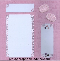Baby Scrapbook Layouts