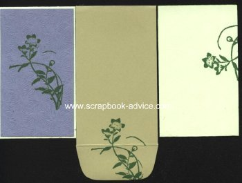 Hand Made Card with decorated envelope