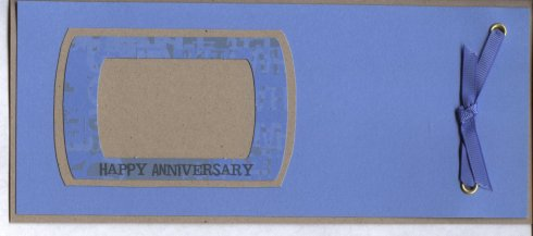 Hand Made Anniversary Card