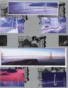 Charleston SC Scrapbook Layout Bridge 2 Right