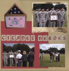 Citadel Heroes Flag Presentation
