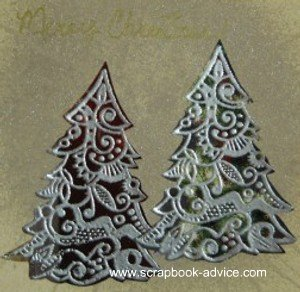 Cloisonne Tree Stamp Card 10