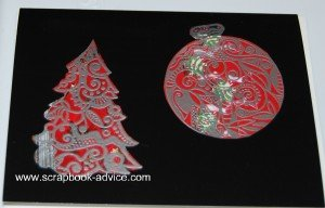 Cloisonne Tree Stamp Card 5