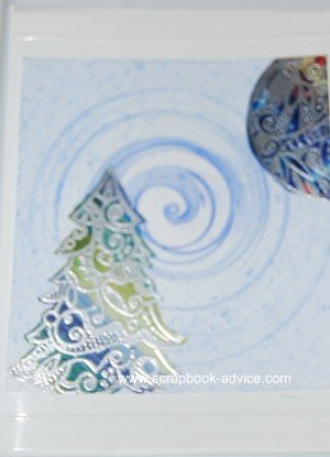 Cloisonne Tree Stamp Card 6