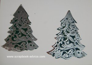 Cloisonne Tree Stamp Card 8