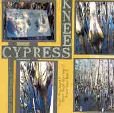 Cypress Gardens Scrapbook Layout