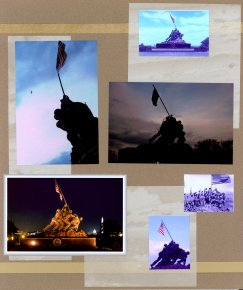 Washington DC Scrapbook Layout