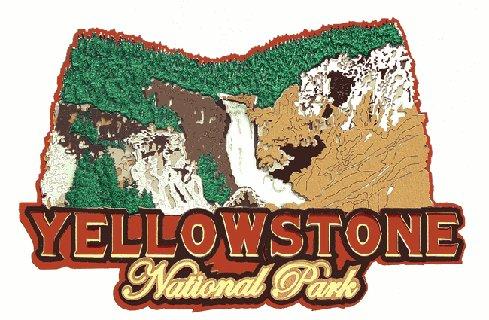 Die Cut Yellowstone Park