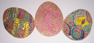 Embossing Michael Strong Cloisonne Collection Egg Stamp