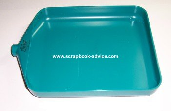 Embossing Craft Tray for Rubber Stamp Embossing