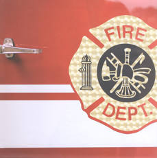 Firefighters Scrapbook Paper