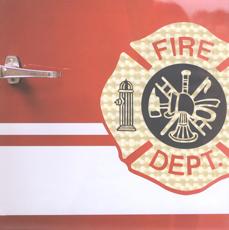 Firefighter Stickers for Erin Condren Life Planner Plum Paper Planner  Fireman Firemen Stickers Fire