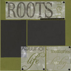 Heritage Scrapbook Layouts