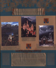 Germany Scrapbook Layout Neuschwanstein Castle
