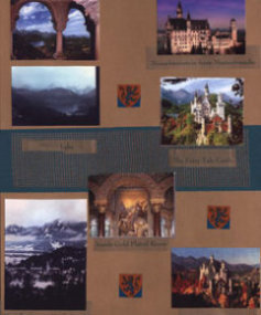 Germamu Scrapbook Layout Neuschwanstein Castle