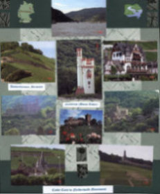 Germany Scrapbook Layout Rhine River