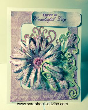 Heartfelt Creations Card from Enchanted Mums Collection