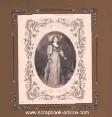Heritage Photos Scrapbook Layout