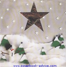 Heritage Christmas Scrapbook Layout