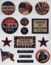 Scrapbook Air Force Stickers