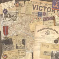 Military Scrapbook Paper