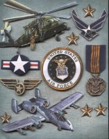 Air Force Scrapbook Grand Adhesions Stickers