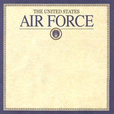 Military Air Force Scrapbook Paper