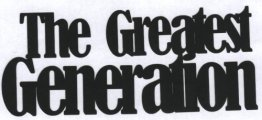 Scrapbook Die Cut The Greatest Generation