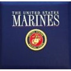Military Marines Scrapbook Album