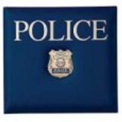 Police Scrapbook Album