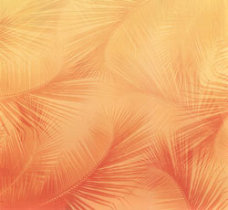 Scrapbook Paper Hawaii Palms Noon in shades of orange