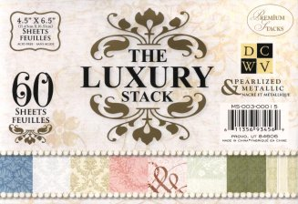 Paper Stacks DCWV Luxury